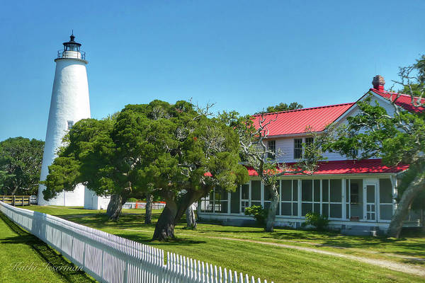 Wall Art - Photograph - Okracoke Lighthouse by Kathi Isserman