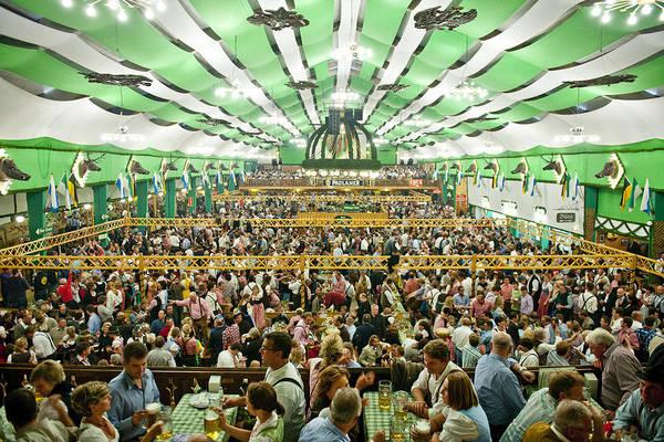 Beer Photograph - Oktoberfest by Maremagnum