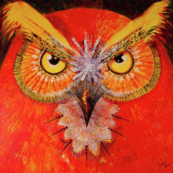 Painting - Ol Big Red by Laurel Bahe
