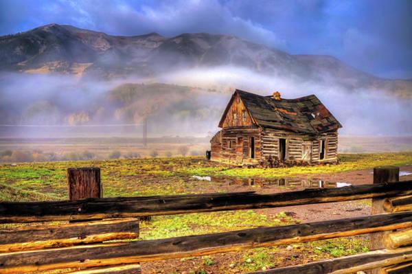 Wall Art - Photograph - Ol' Butte Cabin by David Ross