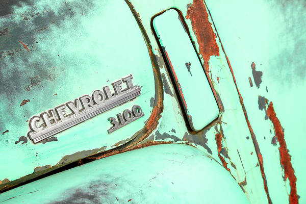 Wall Art - Photograph - Ol' Chevrolet 3100 by Todd Klassy