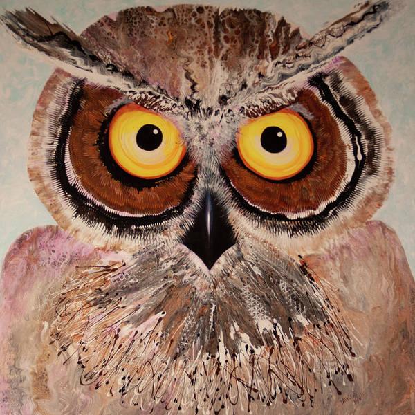 Painting - Ol Shock by Laurel Bahe