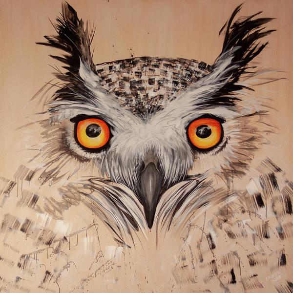 Painting - Ol Sketchy by Laurel Bahe