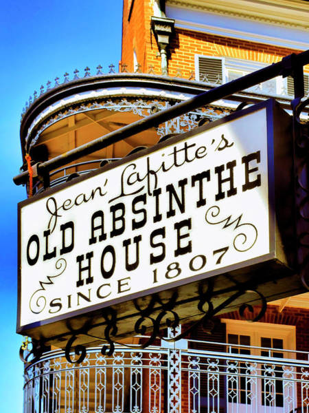 Photograph - Old Absinthe House by Dominic Piperata