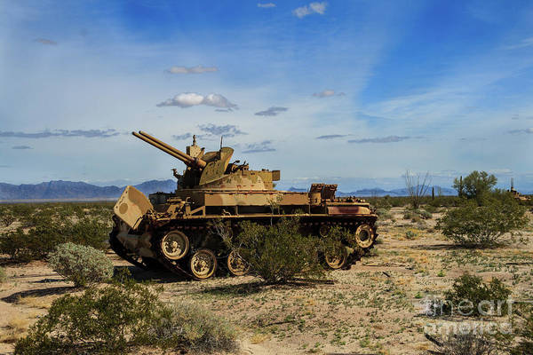 Wall Art - Photograph - Old Army Tank by Robert Bales