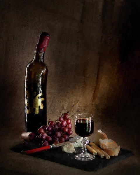 Photograph - Old Bachelor's Dinner by Alexander Fedin