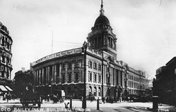 Bailey Photograph - Old Bailey by Hulton Archive
