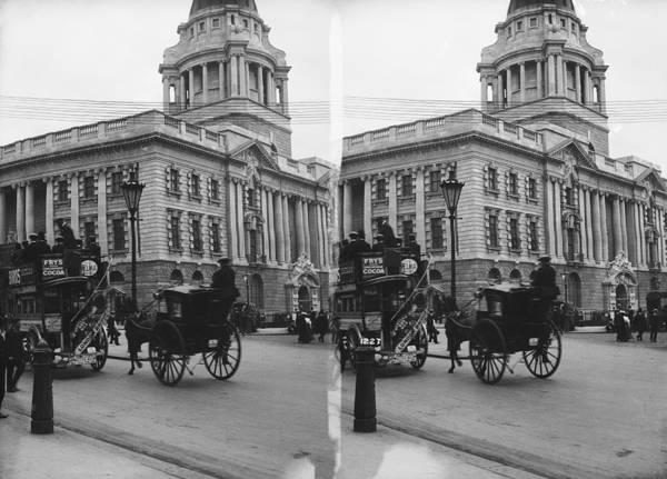 Old People Photograph - Old Bailey by London Stereoscopic Company