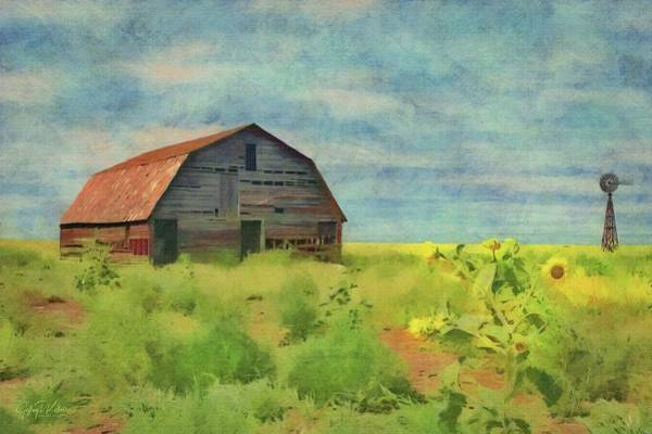 Painting - Old Barn Amongst The Weeds by Jeffrey Kolker