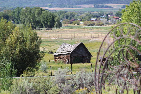 Photograph - Old Barn In The Valley by Tammie J Jordan