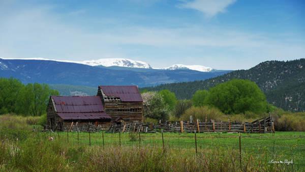 Photograph - Old Barn Mora New Mexico by Karen Slagle