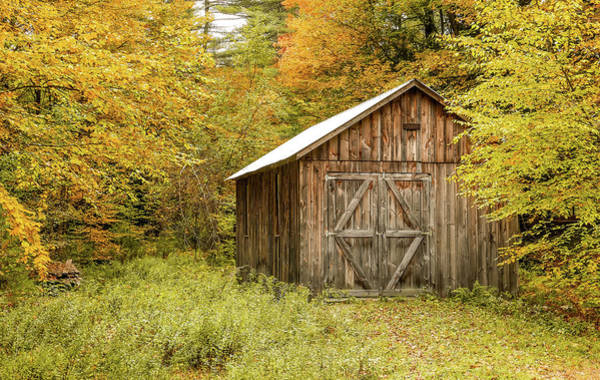 Old Barn New England Art Print