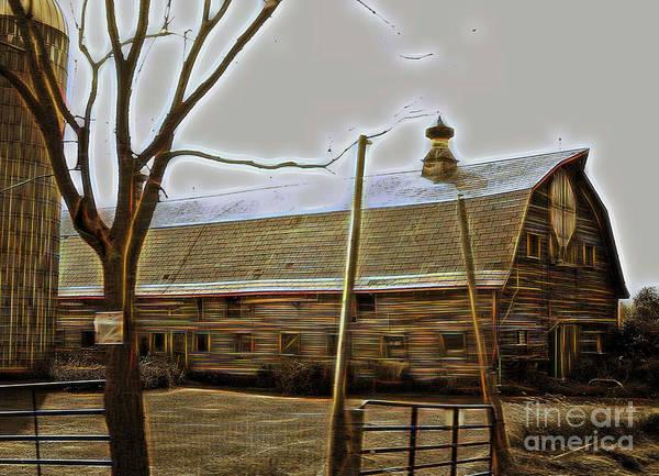 Photograph - Old Barn by Patti Whitten