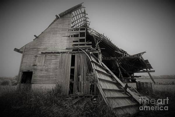 Wall Art - Photograph - Old Barn, Shelby County, Indiana by Steve Gass