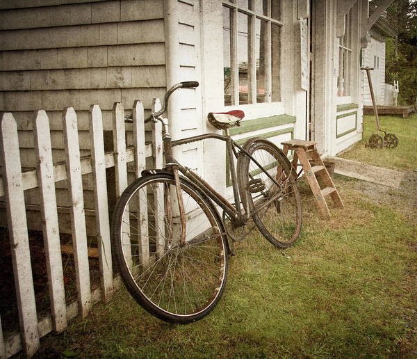 Wall Art - Photograph - Old Bicycle by Nancy Rose