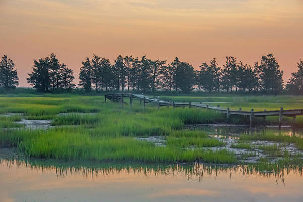 Wall Art - Photograph - Old Boardwalk - North Wildwood New Jersey by Bill Cannon