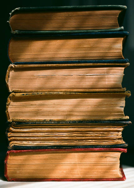 Photograph - Old Books by Carl Young