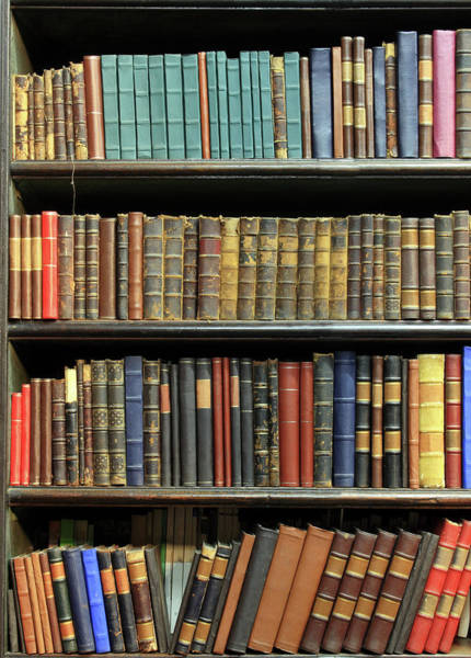 Wall Art - Photograph - Old Books by Luoman