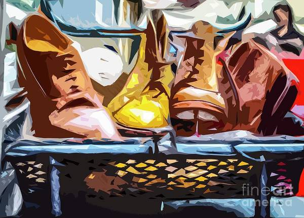 Photograph - Old Boots by Nigel Dudson