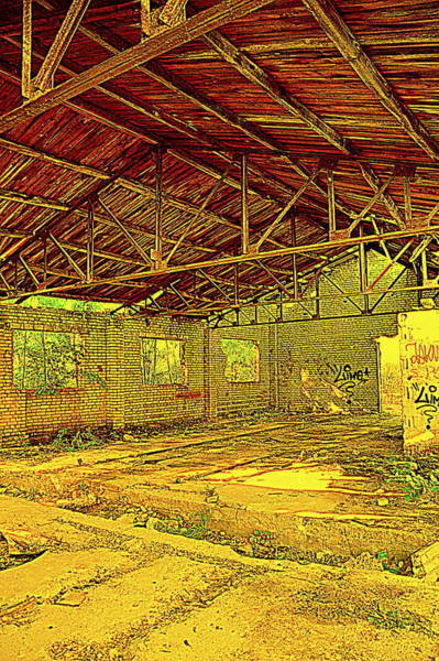 Gorecki Photograph - Old Brickyard by Henryk Gorecki