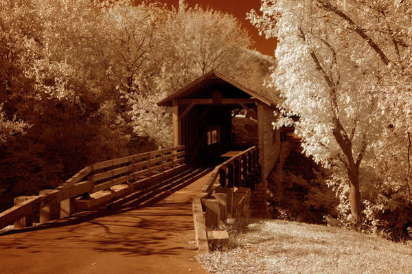 Wall Art - Photograph - Old Bridge Down The Lane by Paul W Faust -  Impressions of Light