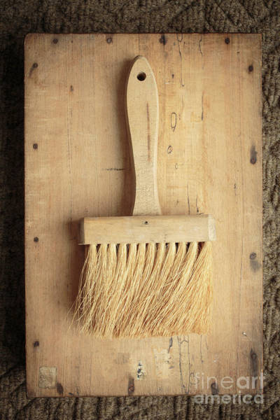 Photograph - Old Bristle Brush by Edward Fielding
