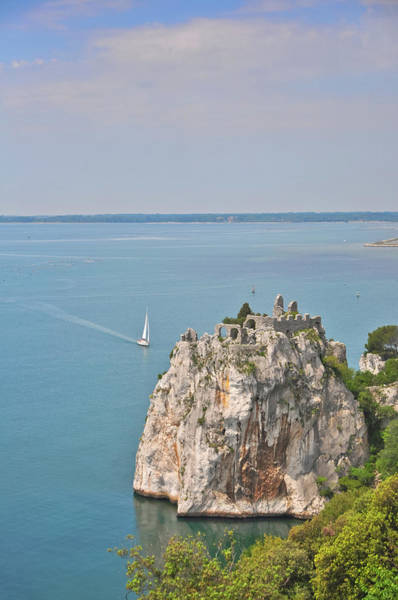 Friuli Photograph - Old Castle Of Duino by Michael Kohaupt