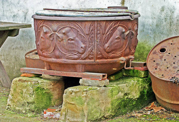Photograph - Old Cauldron by Anthony Jones