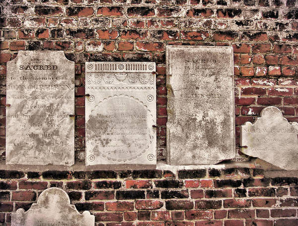 Photograph - Old Cemetery by JAMART Photography
