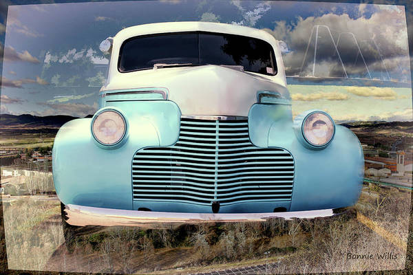 Photograph - Old Chevrolet by Bonnie Willis