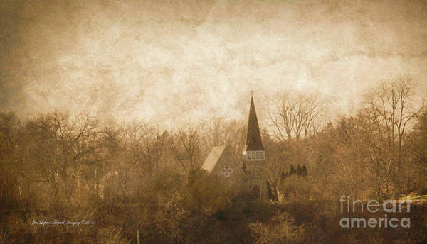 Photograph - Old Church On A Hill  by Jim Lepard