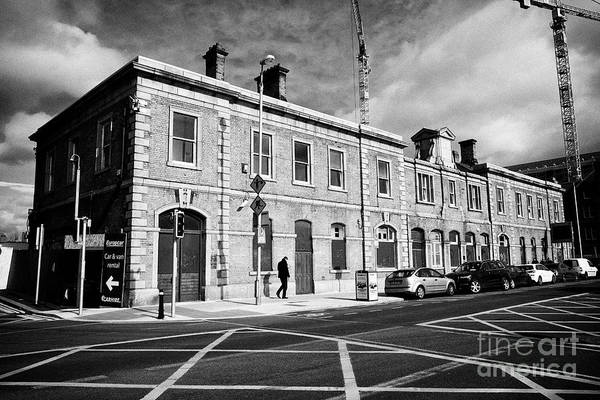 Wall Art - Photograph - Old Cie Goods Depot And North Wall Railway Station Dublin Republic Of Ireland Europe The Former Rail by Joe Fox