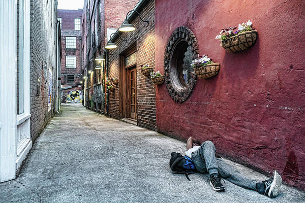 Photograph - Old City Alley by Sharon Popek