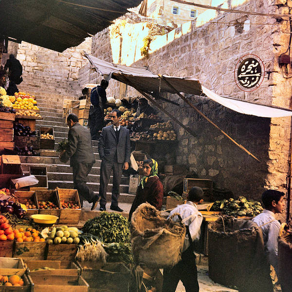 Wall Art - Photograph - Old City Market by Munir Alawi