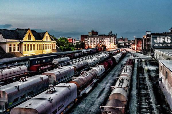 Photograph - Old City Rail Yard by Sharon Popek