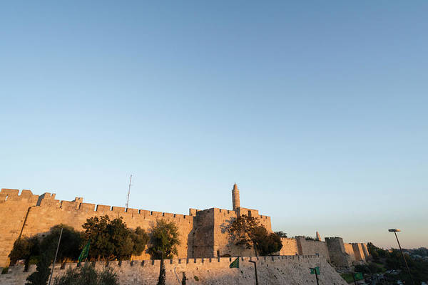 Fortified Wall Art - Photograph - Old City Walls, Jerusalem by Eitan Simanor
