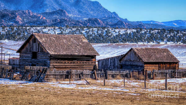 Photograph - Old Colorado Homestead by Janice Pariza
