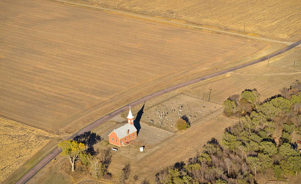 Photograph - Old Country Church by Carl Young