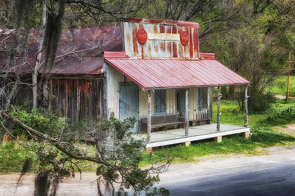 Photograph - Old Country Store by Susan Rissi Tregoning