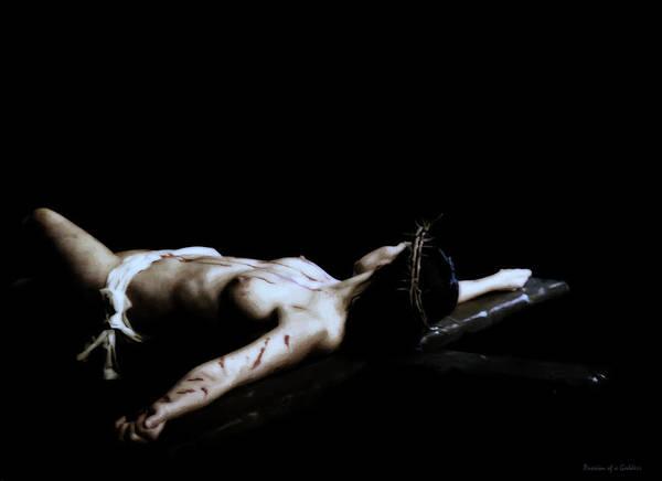 Crucifiction Wall Art - Photograph - Old Crucifix by Ramon Martinez
