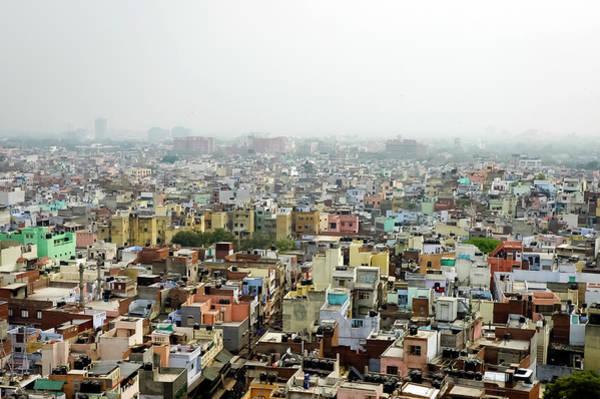 Fog Photograph - Old Delhi by Mani Babbar / Www.ridingfreebird.com