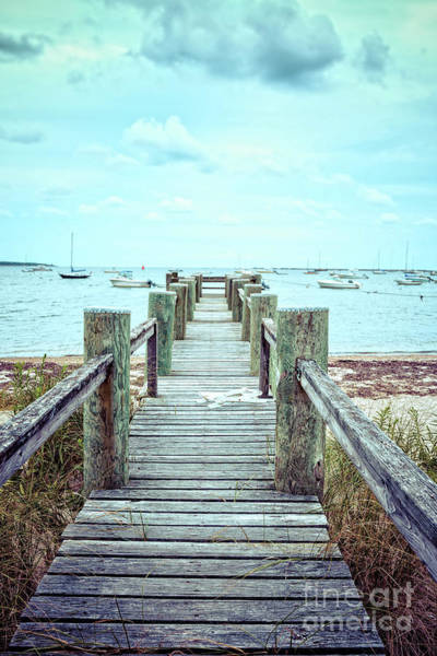 Wall Art - Photograph - Old Dock Hyannis Port Cape Cod Ma by Edward Fielding