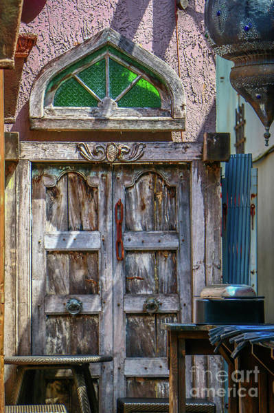Photograph - Old Downtown Doors by Tom Claud