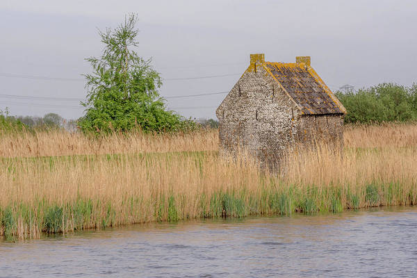 Photograph - Old Dutch House On The River by Wolfgang Stocker