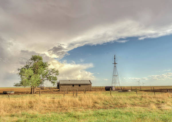 Photograph - Old Farm by Laura Hedien