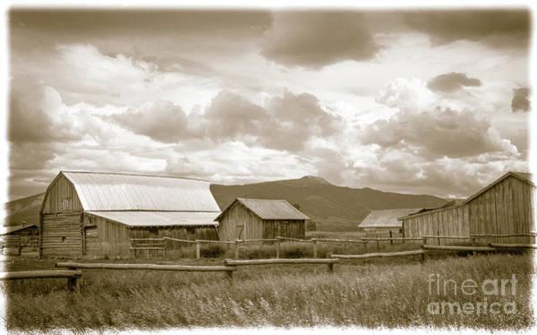 Wall Art - Photograph - Old Farm by Wayne Heim