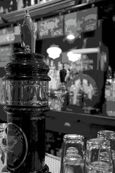 Posterize Photograph - Old Fashion Beer Tap by Owen Ashurst