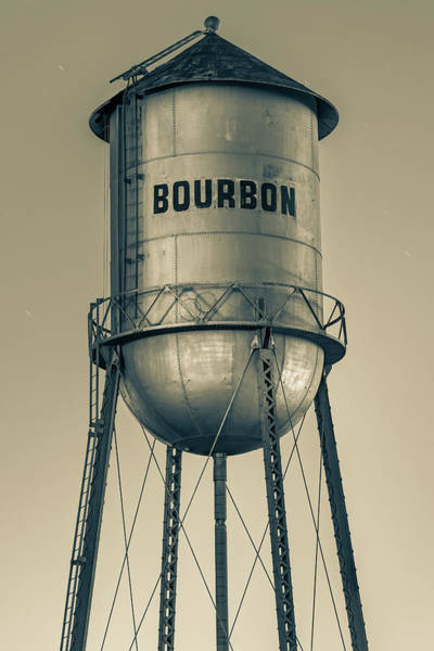 Photograph - Old Fashioned Bourbon Tower - Sepia Edition by Gregory Ballos