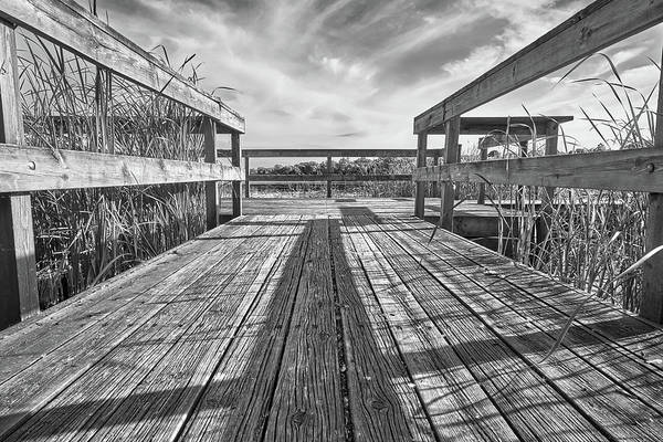 Photograph - Old Fishing Dock by Jim Hughes