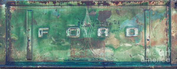 Photograph - Old Ford Rusty Tailgate by Dale Powell